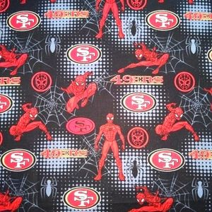 FQ Spiderman with San Francisco Niners